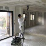 Peinture en bâtiment neuf réalisation A-S Peinture
