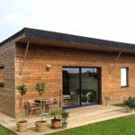 Traitement maison en bois moderne