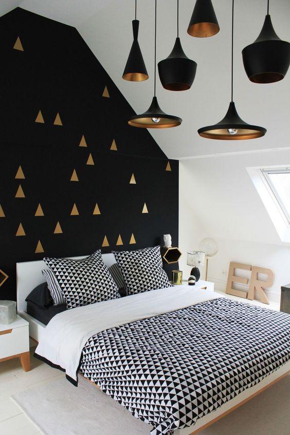 Pose de papier peint chambre